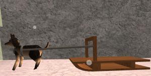 rideable-dog-sled