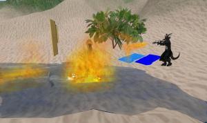 duck-flambe