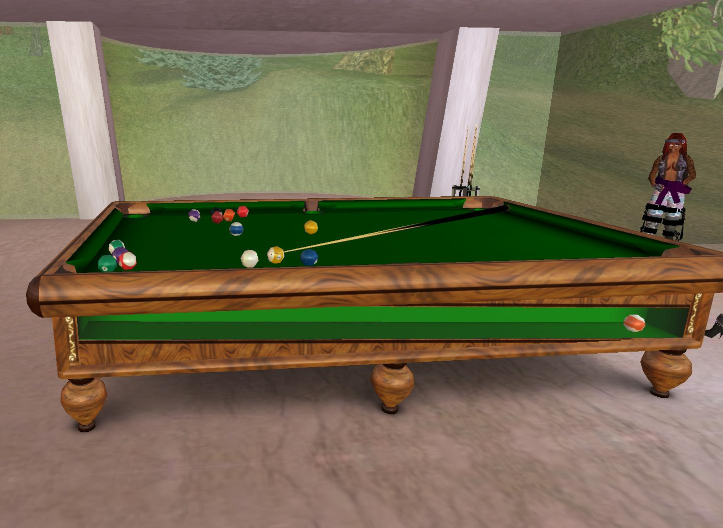 rustic pool table plans