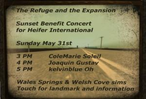Sunset Benefit Concert
