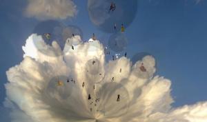 FRI Fashion show in the sky