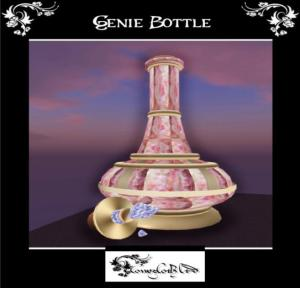 genie bottle outside