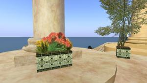flower box and tree2