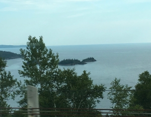 island in lake superior