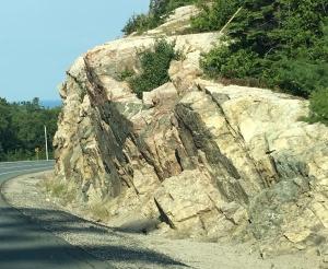 Rocks along Rt 17 and Lake Superior