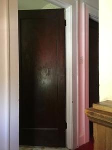 bathroom and little room doors