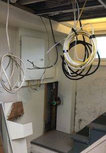 basement wires