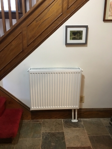front hall radiator