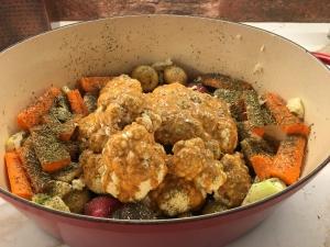 cauliflower pre roasting
