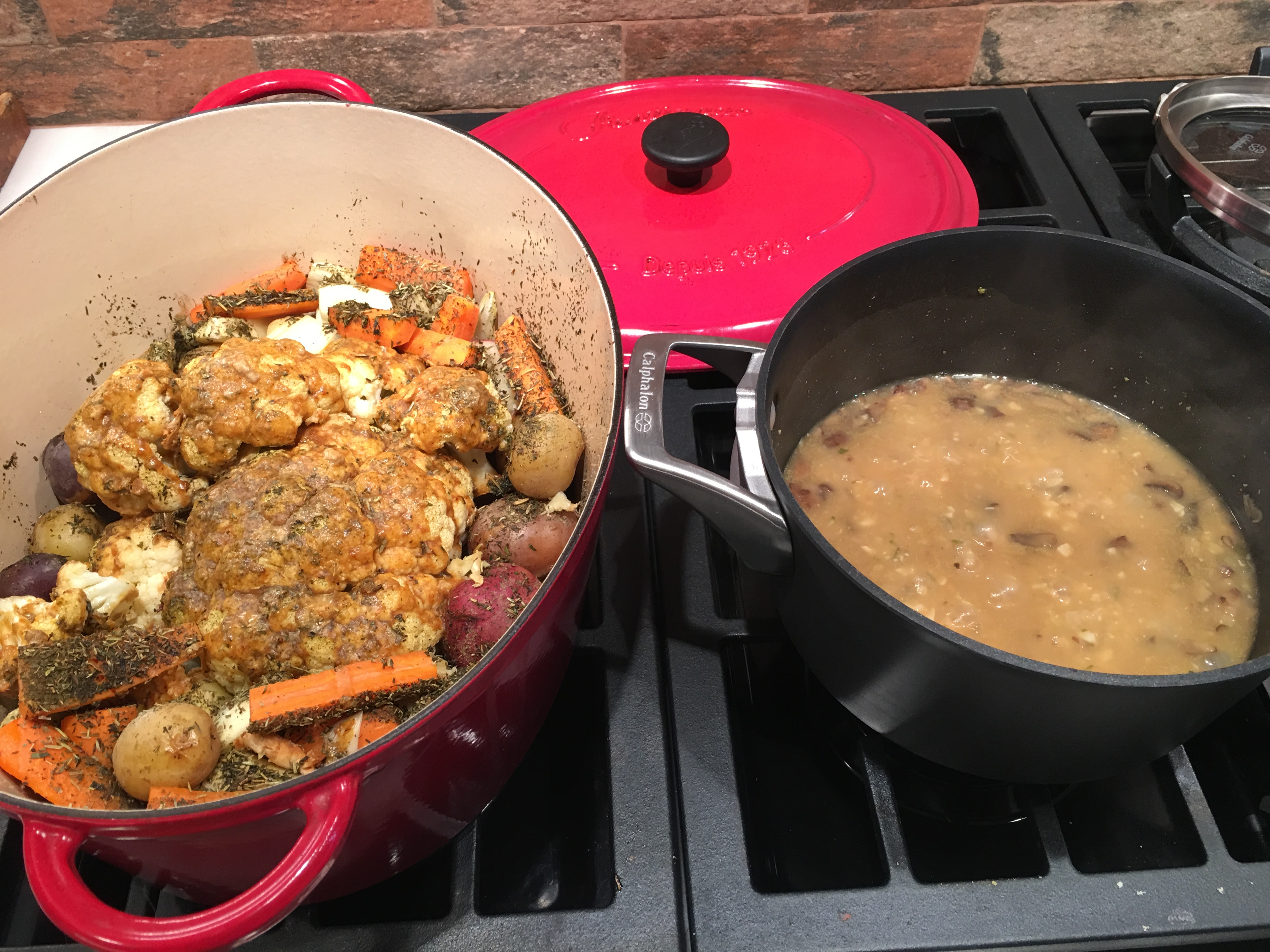first cauliflower pot roast