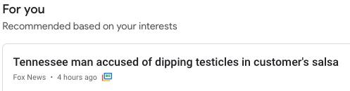 NOT my headline
