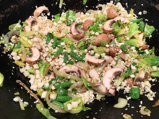 step 4 riced cauliflower