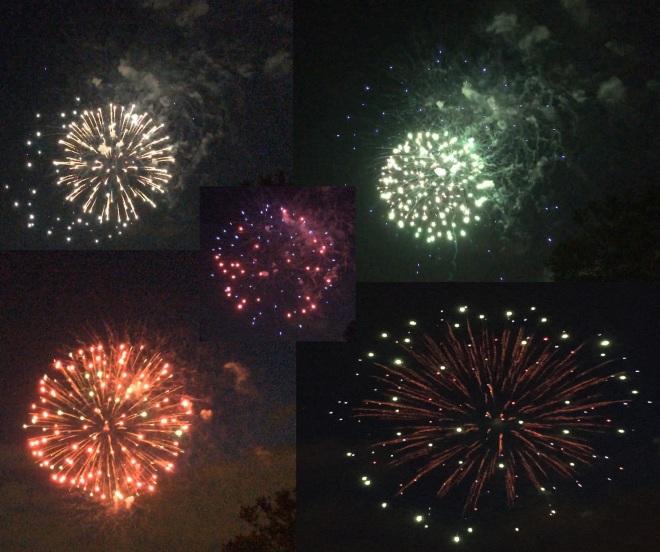 5 fireworks
