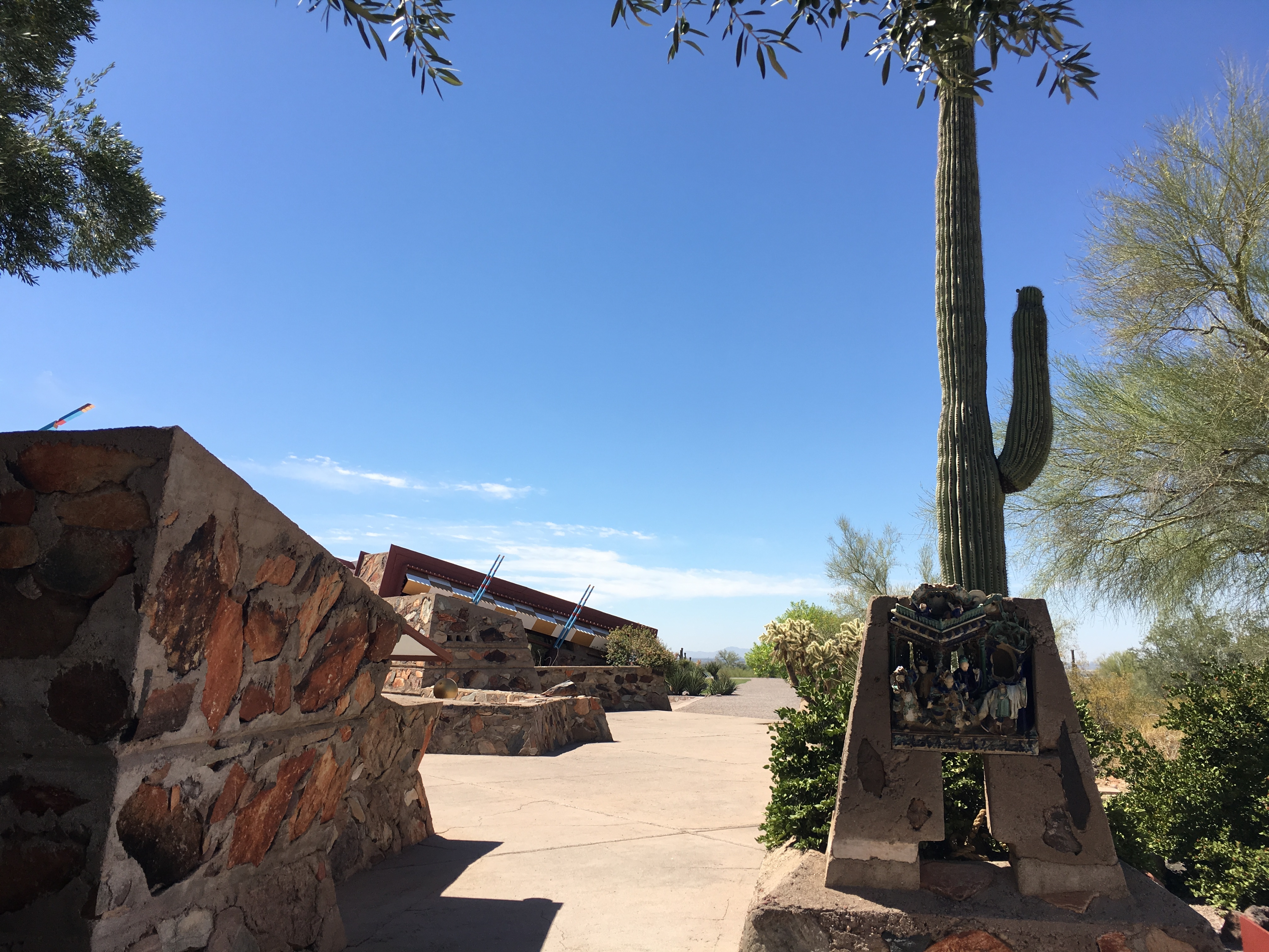 Entrance to Taliesin West