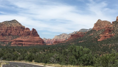 heading home from sedona 2