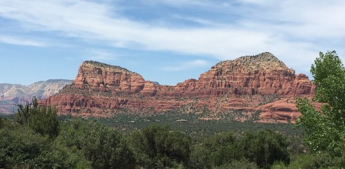 heading home from sedona