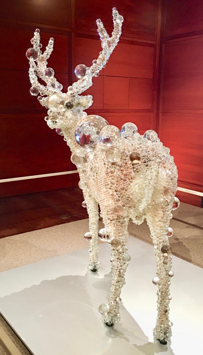 glass deer