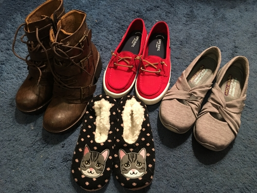 4 new shoes