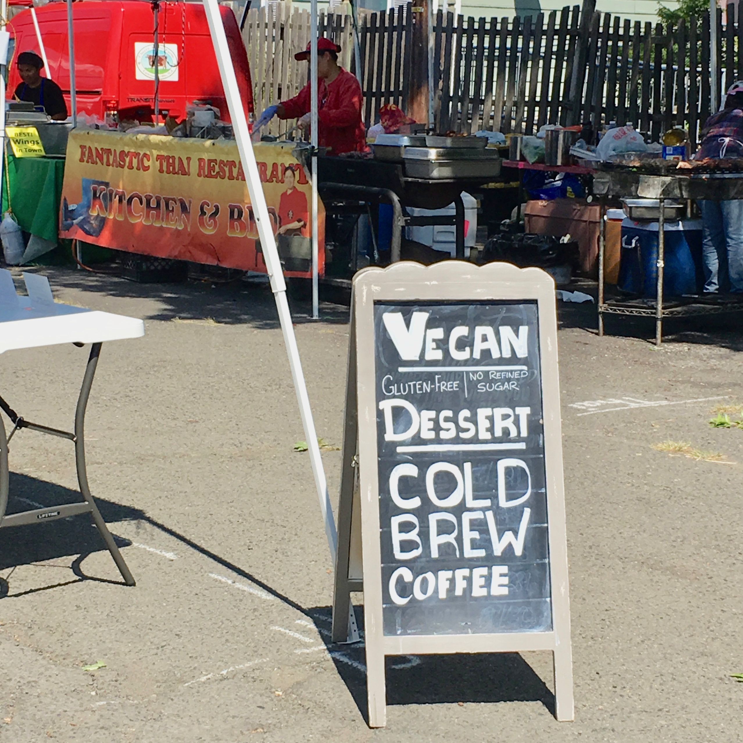 farmers' market sandwich board