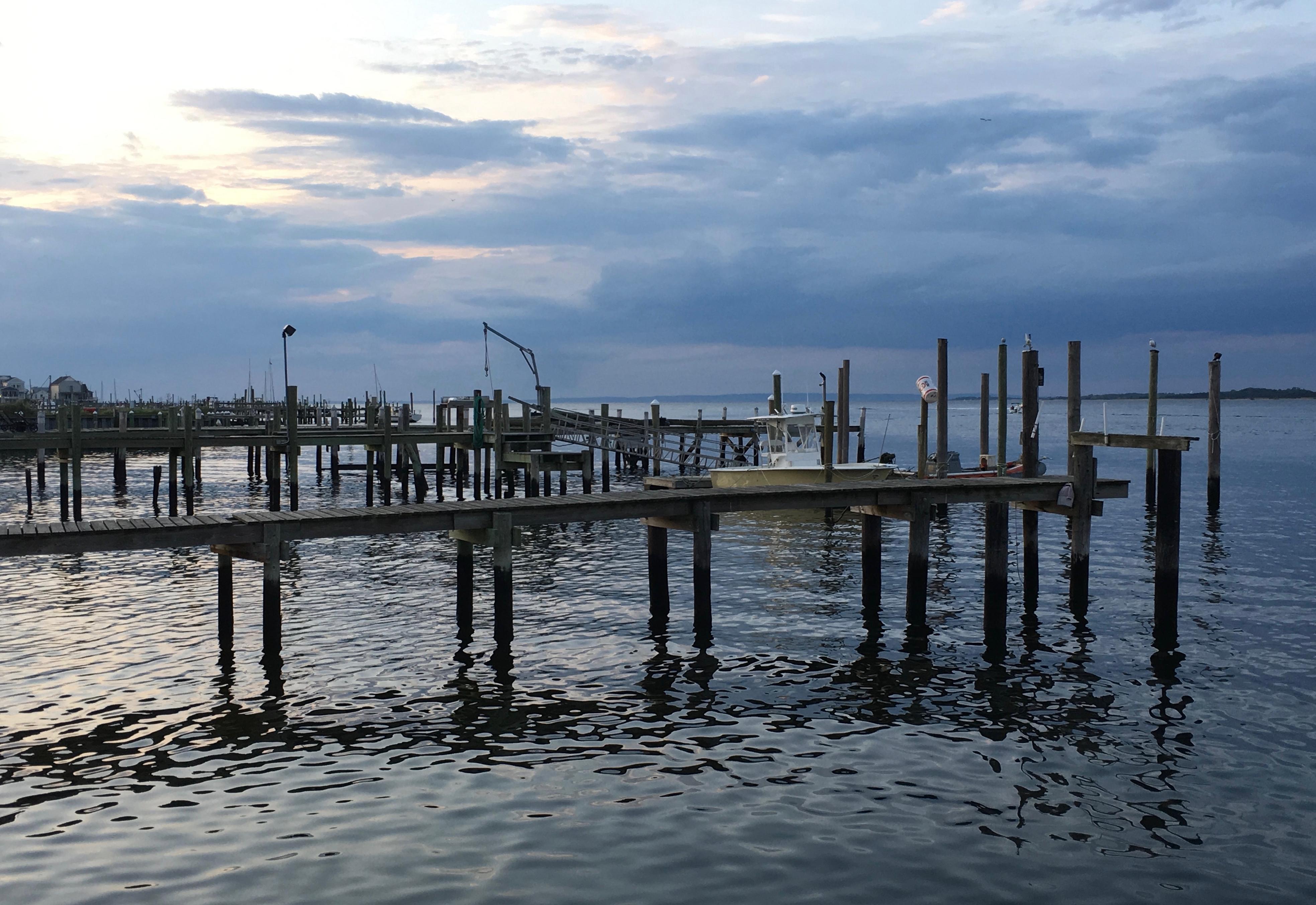Sunset on Sandy Hook Bay