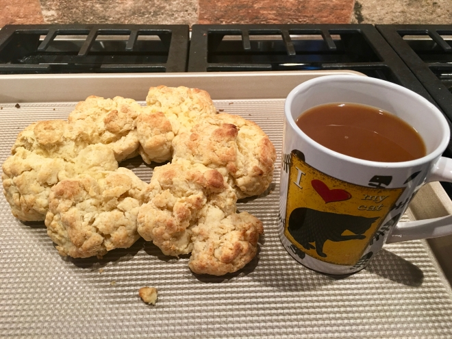 buttermilk biscuits and coffee