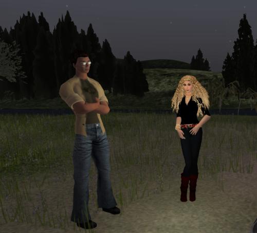 Sean and Ahuva