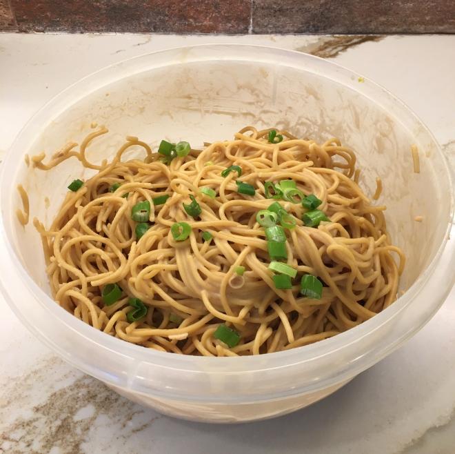 cold sesame noodle