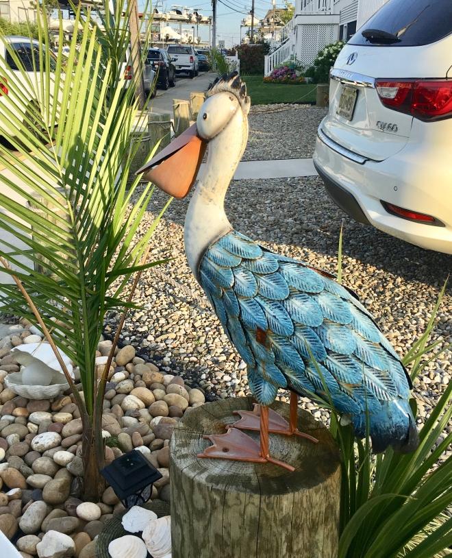 pelican statue