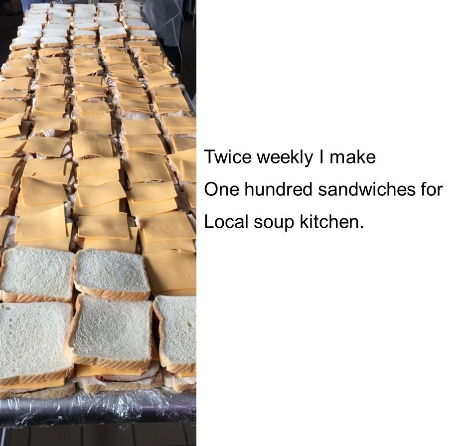 sandwiches haiku
